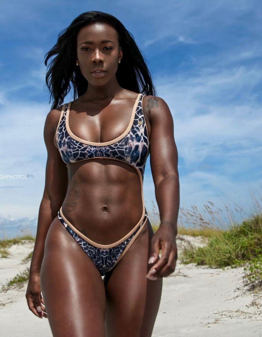 #ripped#fit   Beautiful black women in bikini in 2019 ...