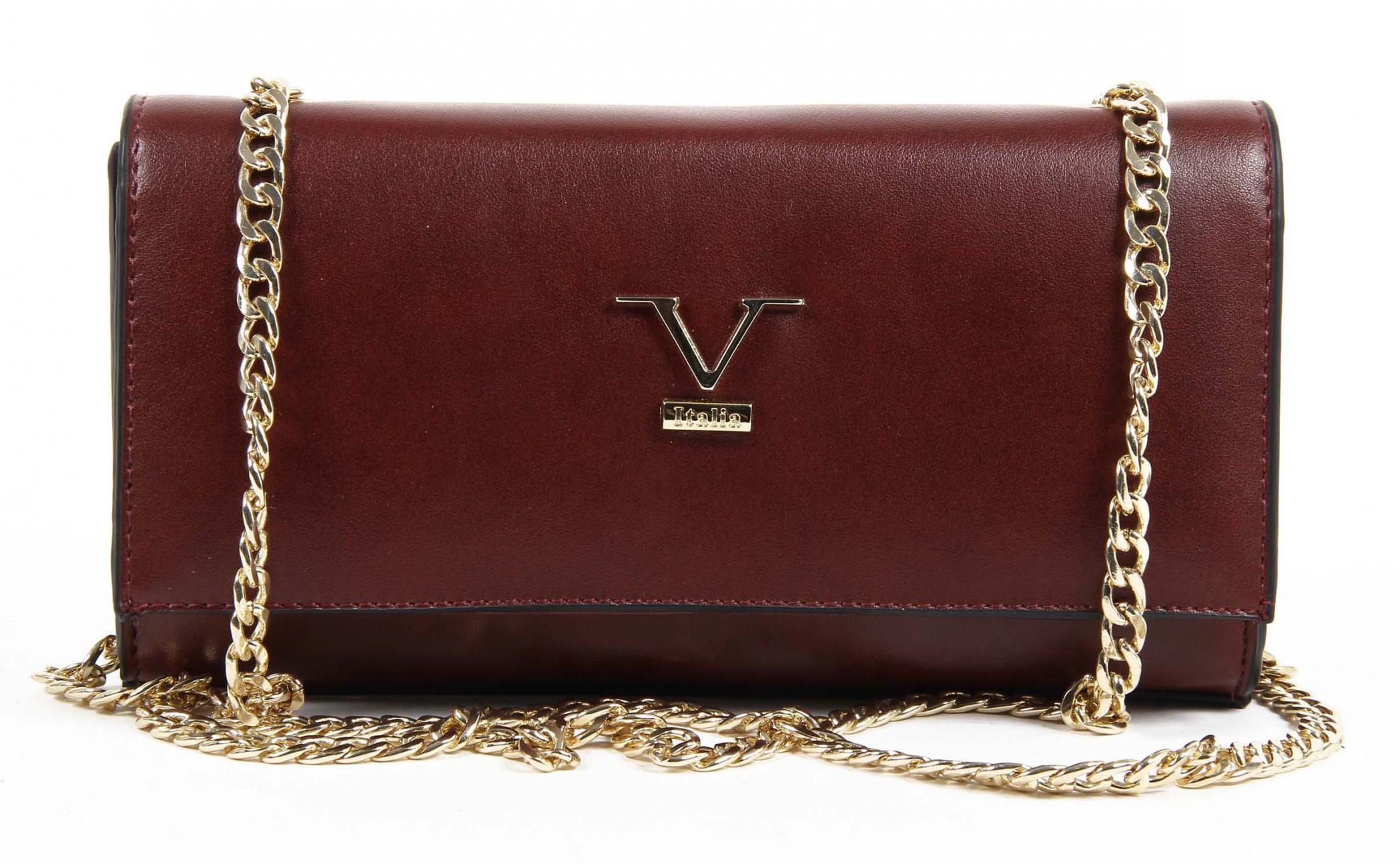 Versace 19.69 Abbigliamento Sportivo Srl Milano Italia Womens Handbag VE011 CLARET  RED 4b1a1fadf4437
