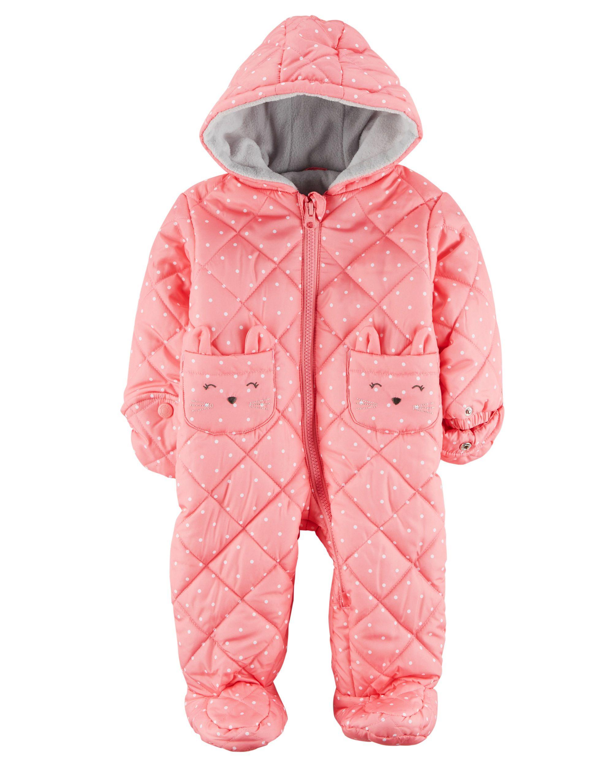 Infant 1 Piece Snowsuit Carter S Oshkosh Canada Baby Clothes