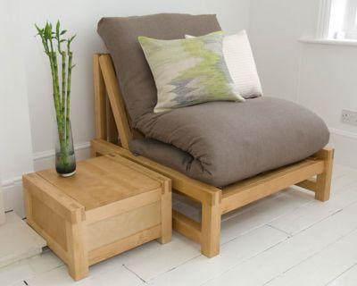 Futon Company Single Sofa Bed and Comfort Futon Taupe Cheap