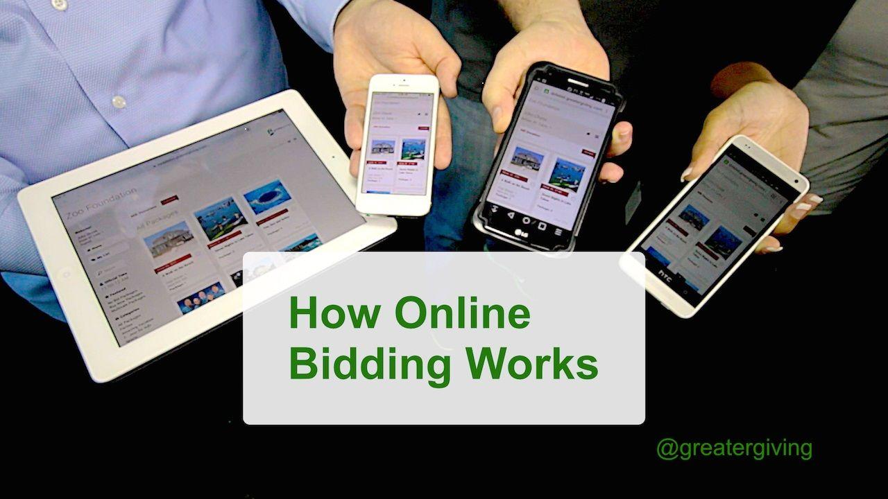 How online bidding works in 3 simple steps httpsyoutu