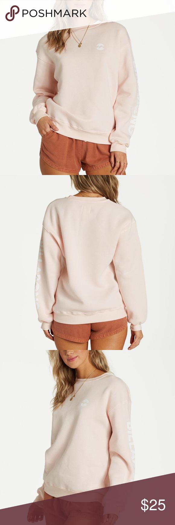 Billabong Legacy Sweatshirt Peach Kiss Crewneck Sweatshirt Women Sweatshirts Women Sweatshirts [ 1740 x 580 Pixel ]