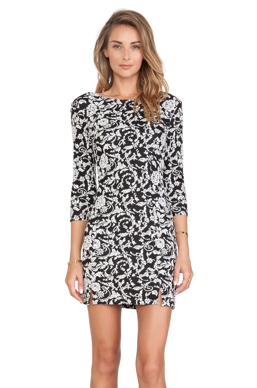 Bb Dakota Melina Floral Dress In Black White Closet Pinterest