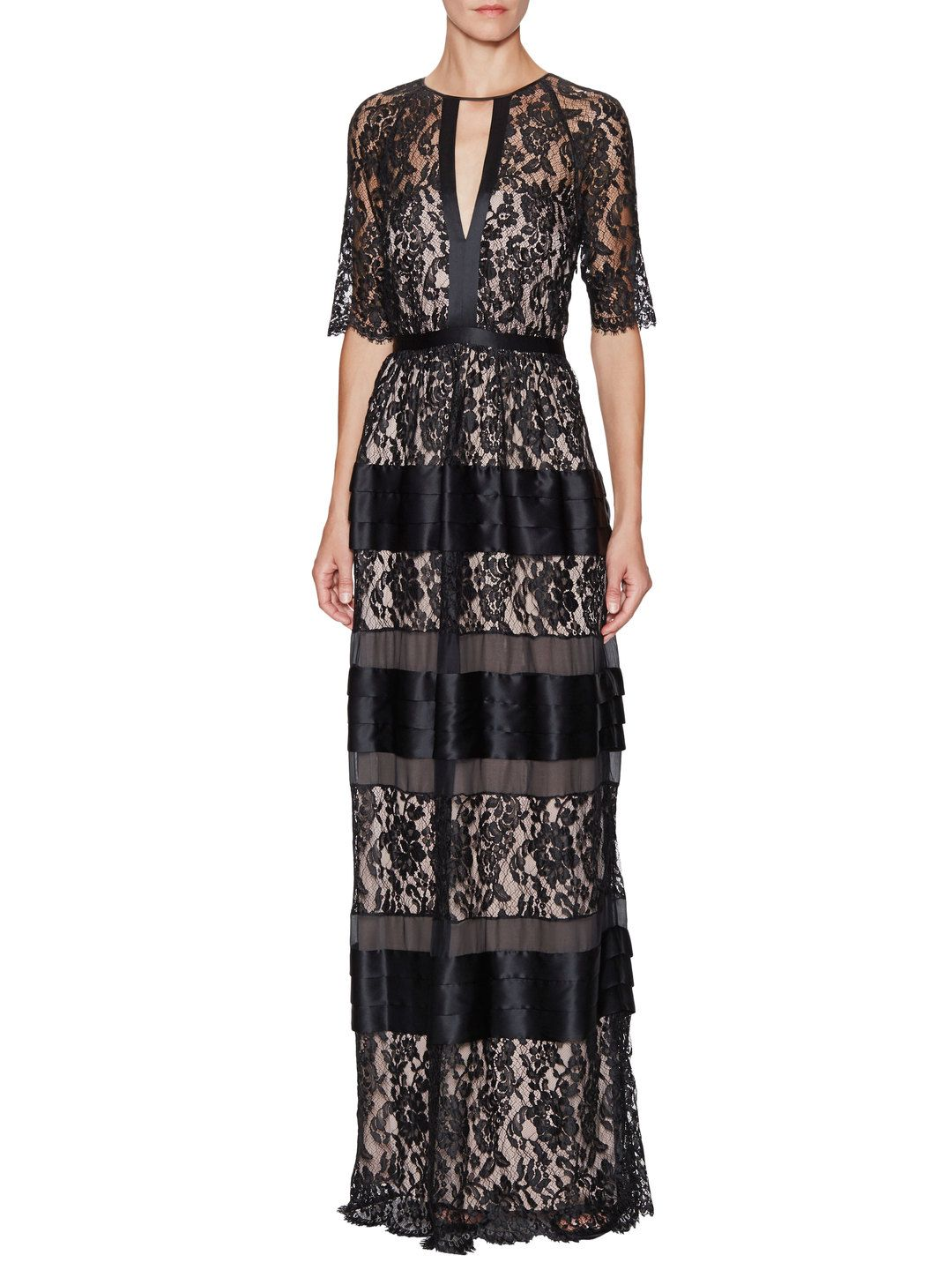 Newton Keyhole Lace Dress by Temperley London at Gilt