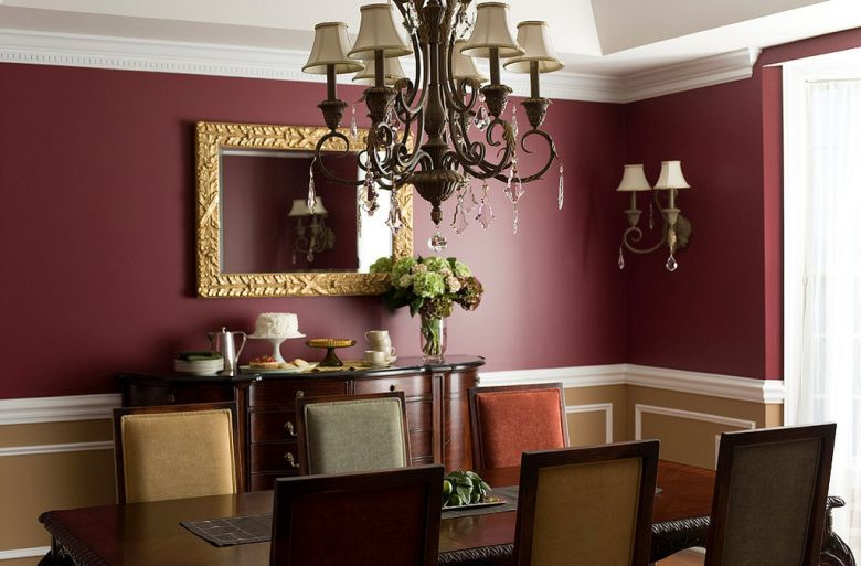 dining room paint ideas | Benjamin Moore 2083-10 Raisin Torte, HC-46 ...