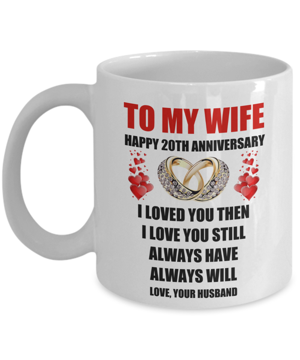 20 Year Wedding Anniversary Gift For Wife: 20 Year 20th Wedding Anniversary Marriage Gift For Wife