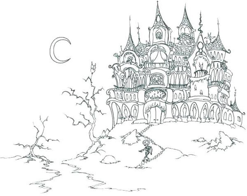 Very Cool Castle Coloring Pages Collection As You Recognize That Castle Is A Type Of Fortifi Castle Coloring Page Halloween Coloring Sheets Halloween Coloring