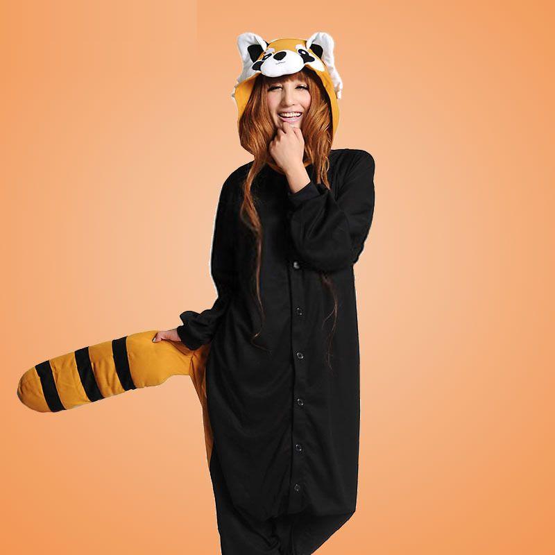 PajamasBuy - Onesies Hoodie Black Racoon Costume christmas Kigurumi Pajamas, $28.30 (http://www.pajamasbuy.com/onesies-hoodie-black-racoon-costume-christmas-kigurumi-pajamas/)