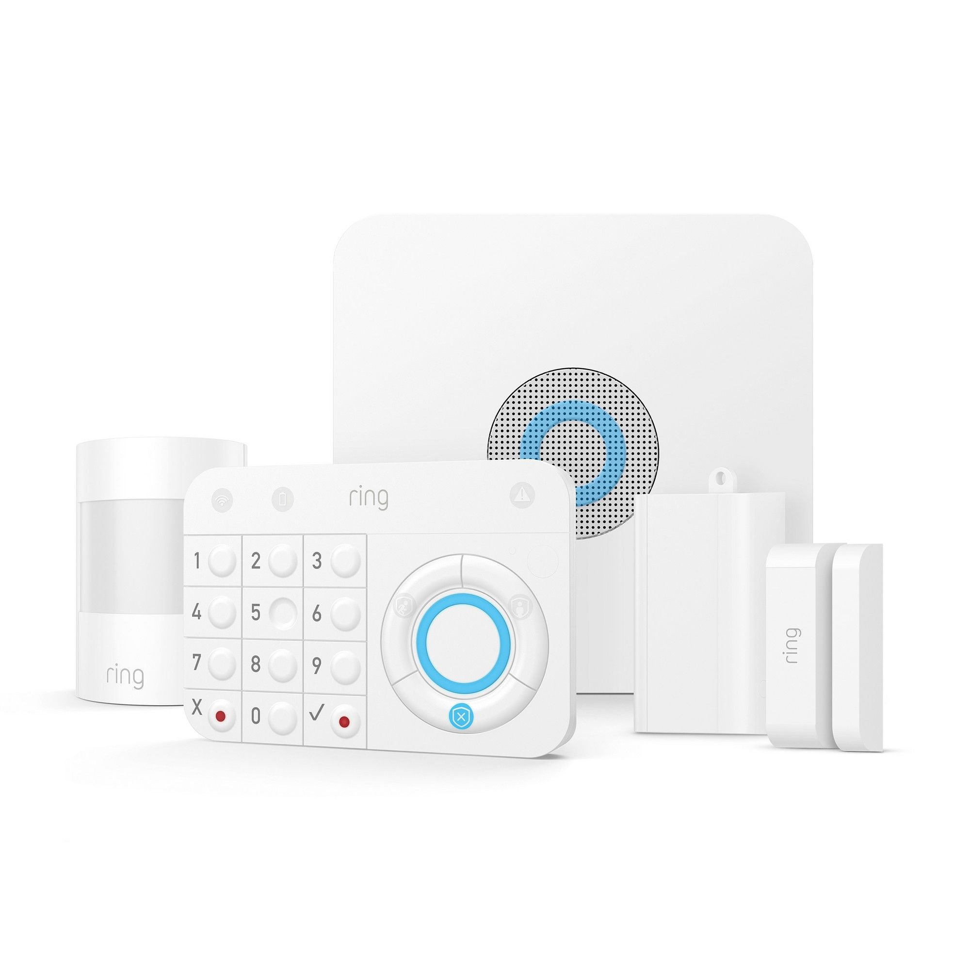 Ring Alarm Starter Kit Wireless Home Security Systems Diy Home Security Smart Home Security