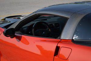 C6 Corvette Carbon Fiber Zr1 Style Roof Panel And B Pillar Halo Roof Panels Corvette Carbon Fiber