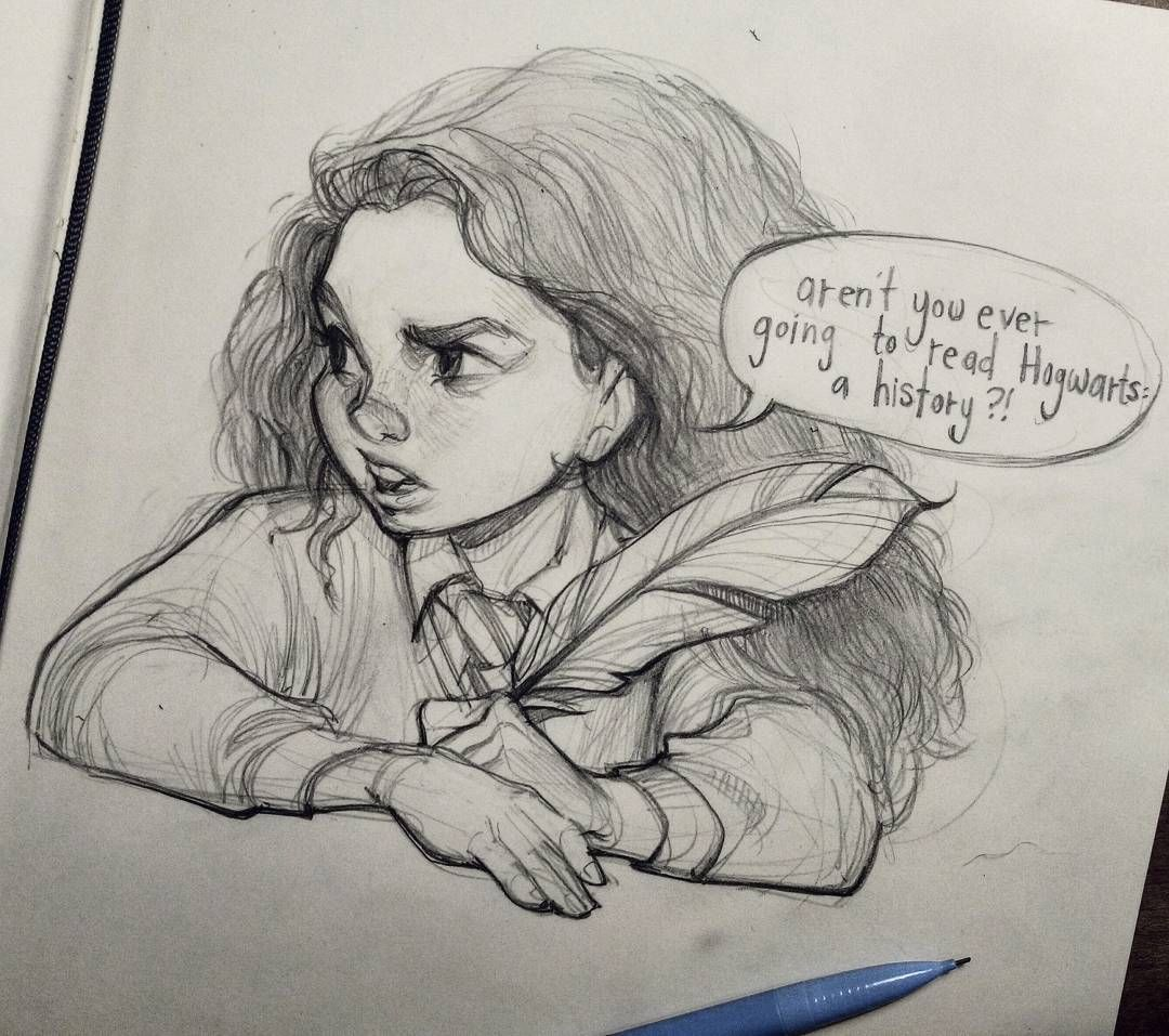 Hermione, The Way I Pictured Her When I Read The 1st Book