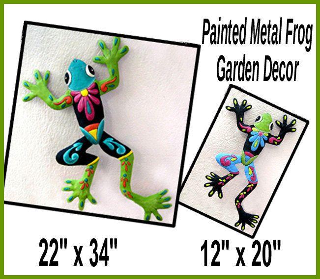 Save on Frog Art Combo, Frog Art Wall Hanging - Outdoor Garden Art ...