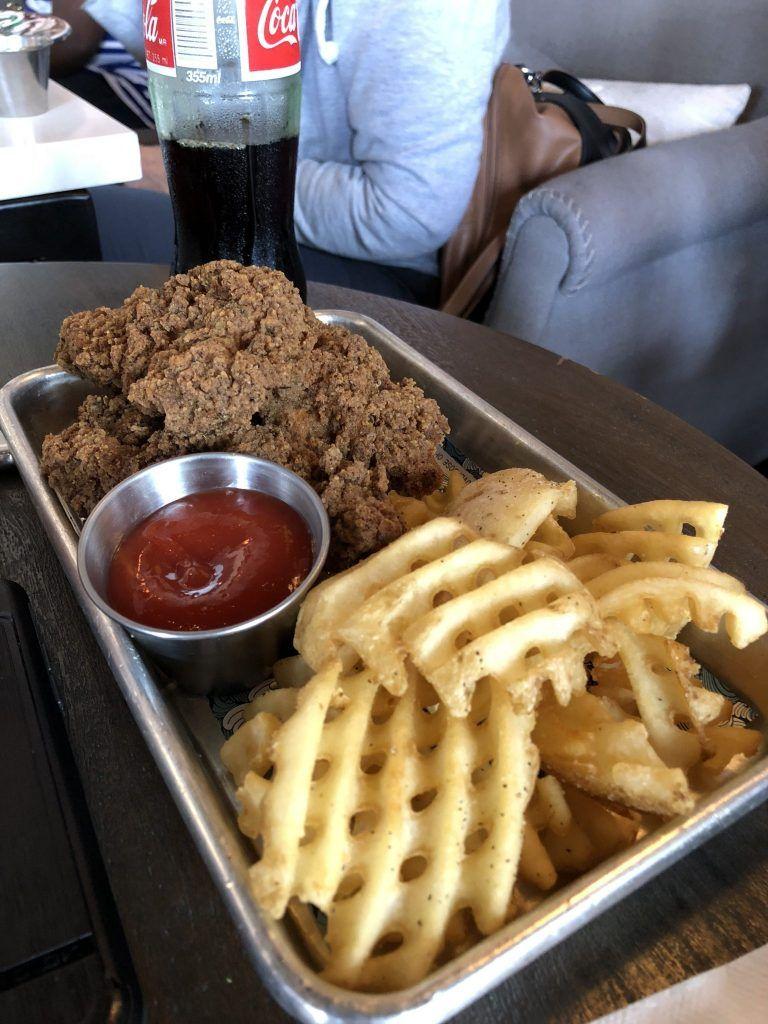 A Fun, New Restaurant in Austin Wild Chix & Waffles Cha