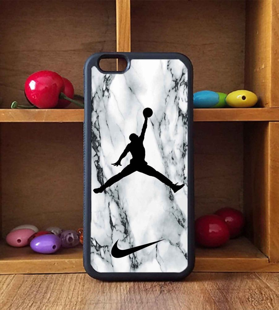 Nike Air Jordan White Marble For IPhone 6/6s, 6s+ Print On