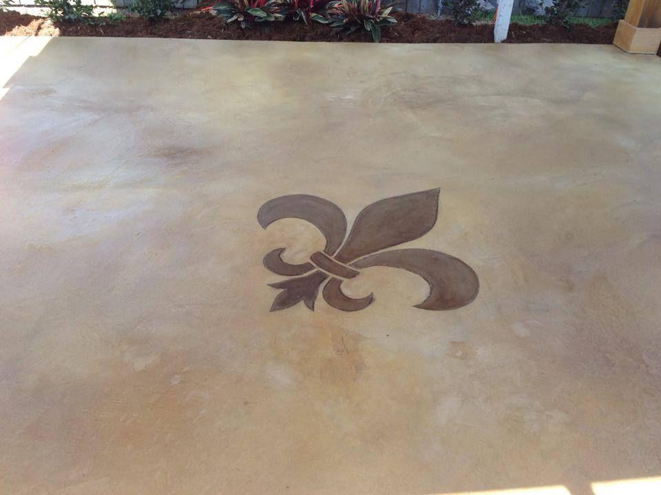 Epoxy Flooring Concrete Resurfacing Staining Lafayette La Concrete Decor Stained Concrete Concrete Resurfacing