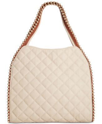 2bec31fd15 Big Buddha Quilted Gold Ball Tote