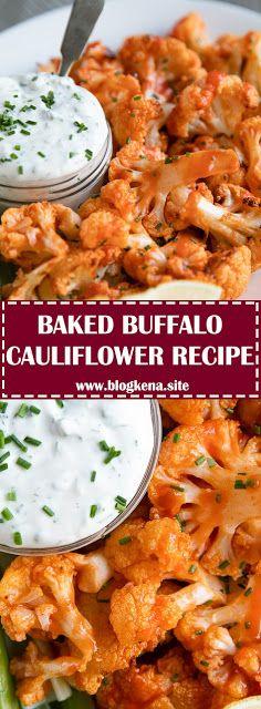 Photo of BAKED BUFFALO CAULIFLOWER RECIPE – #recipes