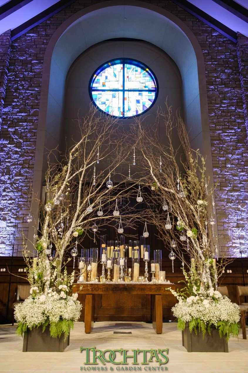 Hmm maybe can incorporate some of these ideas in my design for Church wedding altar decoration ideas