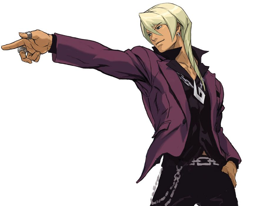 Apollo Justice: Ace Attorney - Klavier Gavin Objection Pose