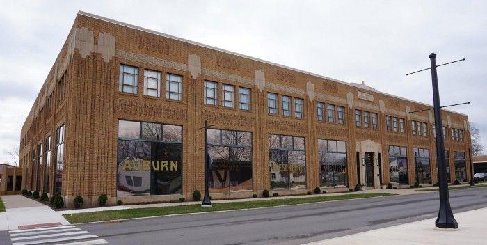 Preservation effort begins for Auburn Cord Duesenberg Museums Auburn administration building