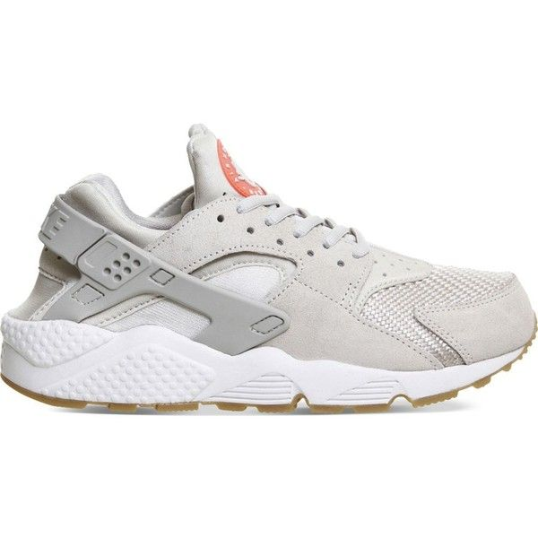 info for 11bf4 196fc NIKE Air Huarache neoprene trainers (135) ❤ liked on Polyvore featuring  mens fashion, mens shoes, mens sneakers, light bone, nike mens sneakers…