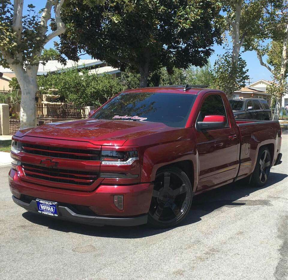 2016 Single Cab Chevy Silverado Chevy Trucks Silverado Chevy Trucks Lowrider Trucks