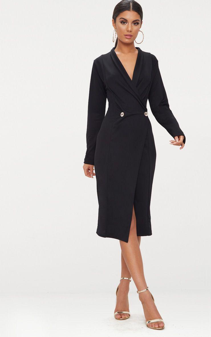 Pin By Madalena Figueiredo On Fashion Ideas Staple Dress Midi Dress Clothes [ 1180 x 740 Pixel ]
