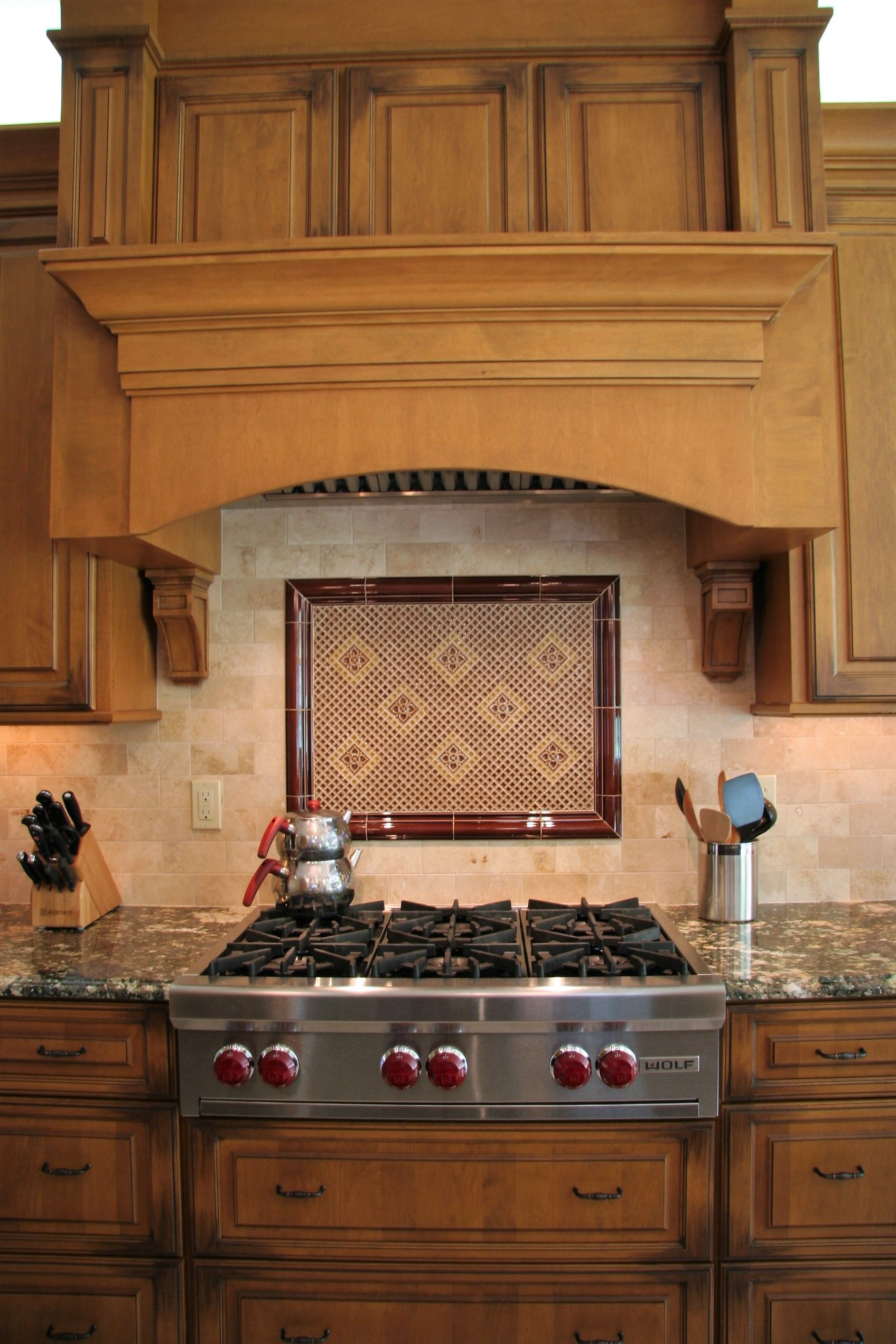Traditional Kitchen Designed By Monarch Kitchen Bath Hood