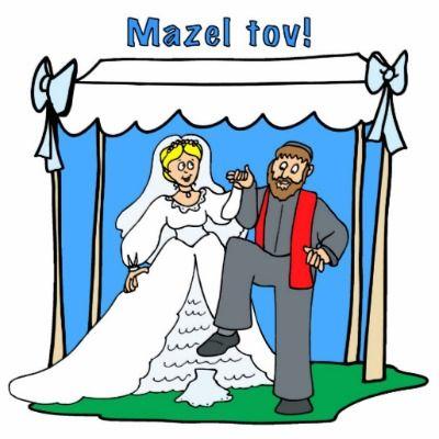 Common jewish greetings mazel tov wedding weddingsbar mitzvahs common jewish greetings mazel tov wedding m4hsunfo