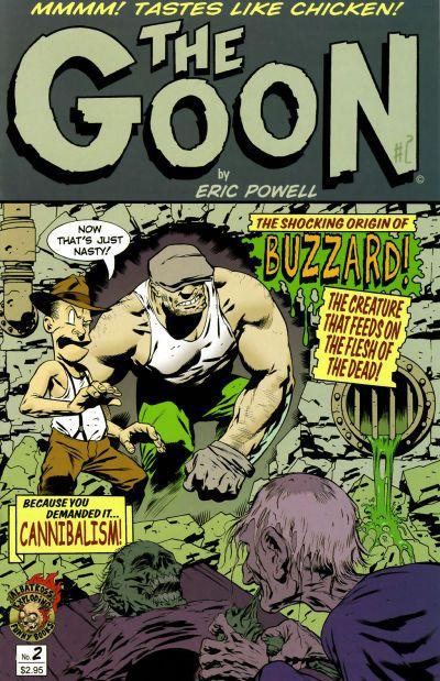 Cover for The Goon (Albatross Exploding Funny Books, 2002 series) #2