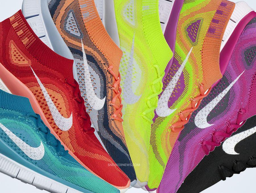 Nike WMNS Free Flyknit - August 2013 - SneakerNews.com