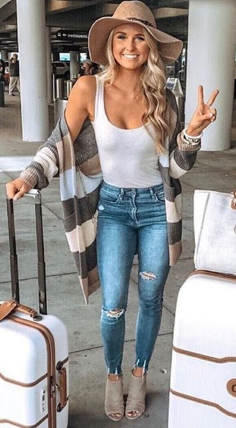 20 Charming Summer Fashion Outfits Ideas For Women   Casual fall ...