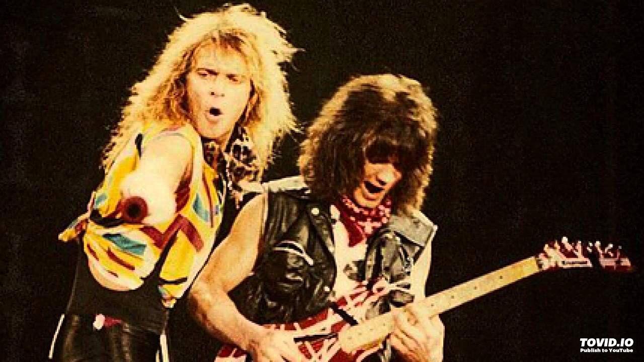 David Lee Roth And Eddie Van Halen Eddie Van Halen Van Halen 5150