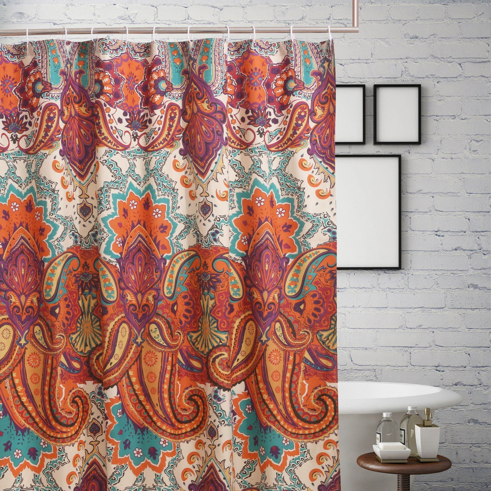 Greenland Home Fashions Nirvana Polyester Shower Curtain