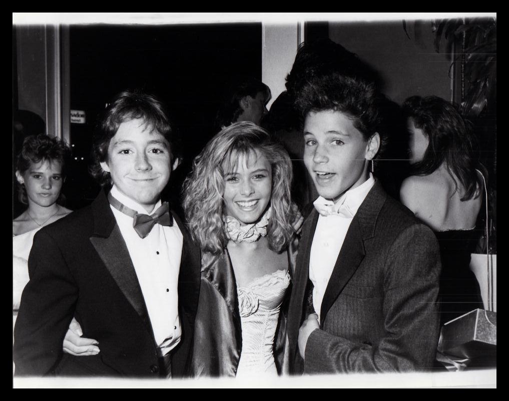 Scott Grimes, Nicole Eggert and Corey Haim (1986) | Nicole ...