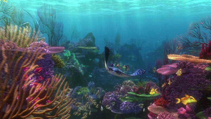 FINDING NEMO Animation Underwater Sea Ocean Tropical Fish Adventure Family Comedy Drama Disney 1finding Nemo Wallpaper Background