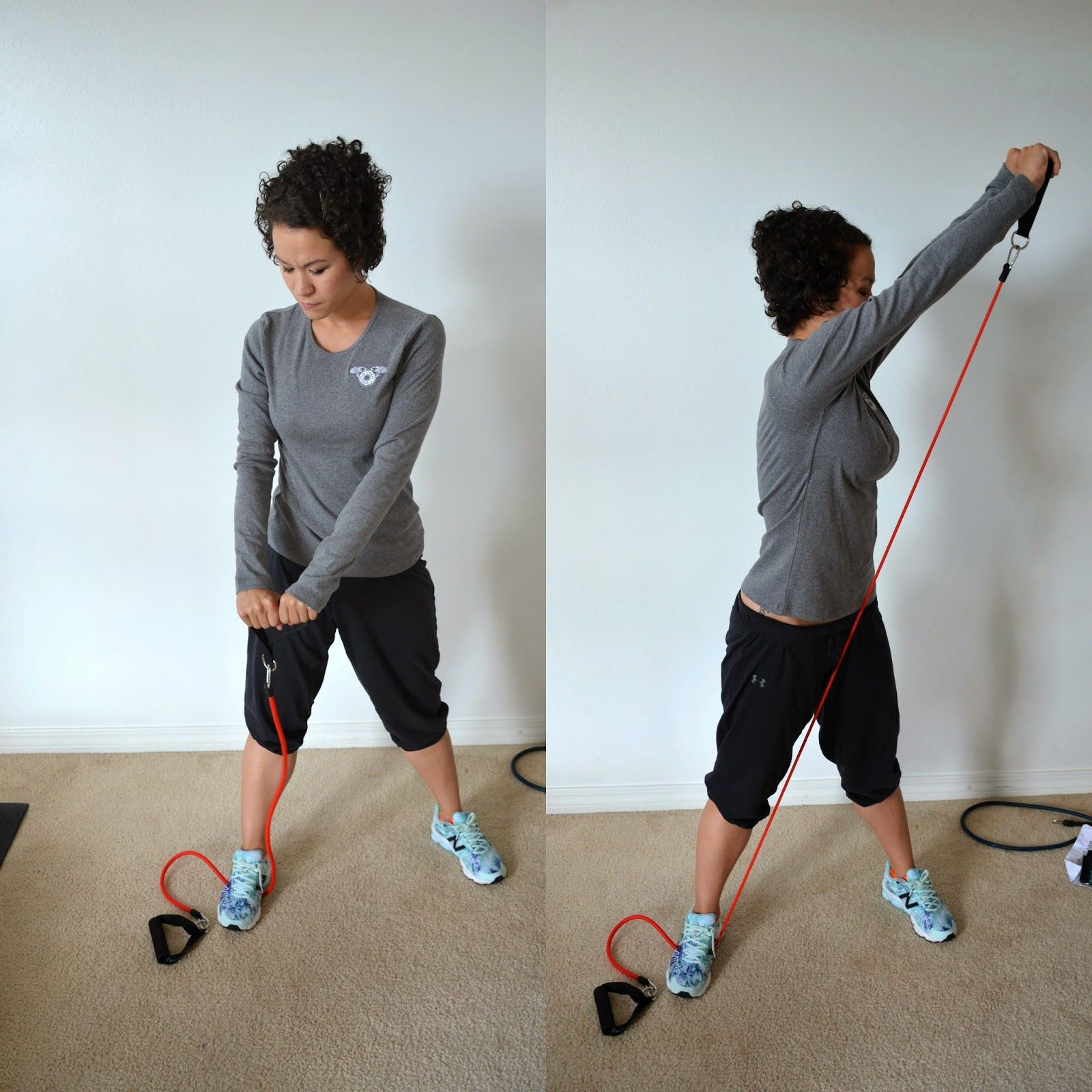 7 Resistance Band Moves That You Can Do Anywhere Mommy Workout