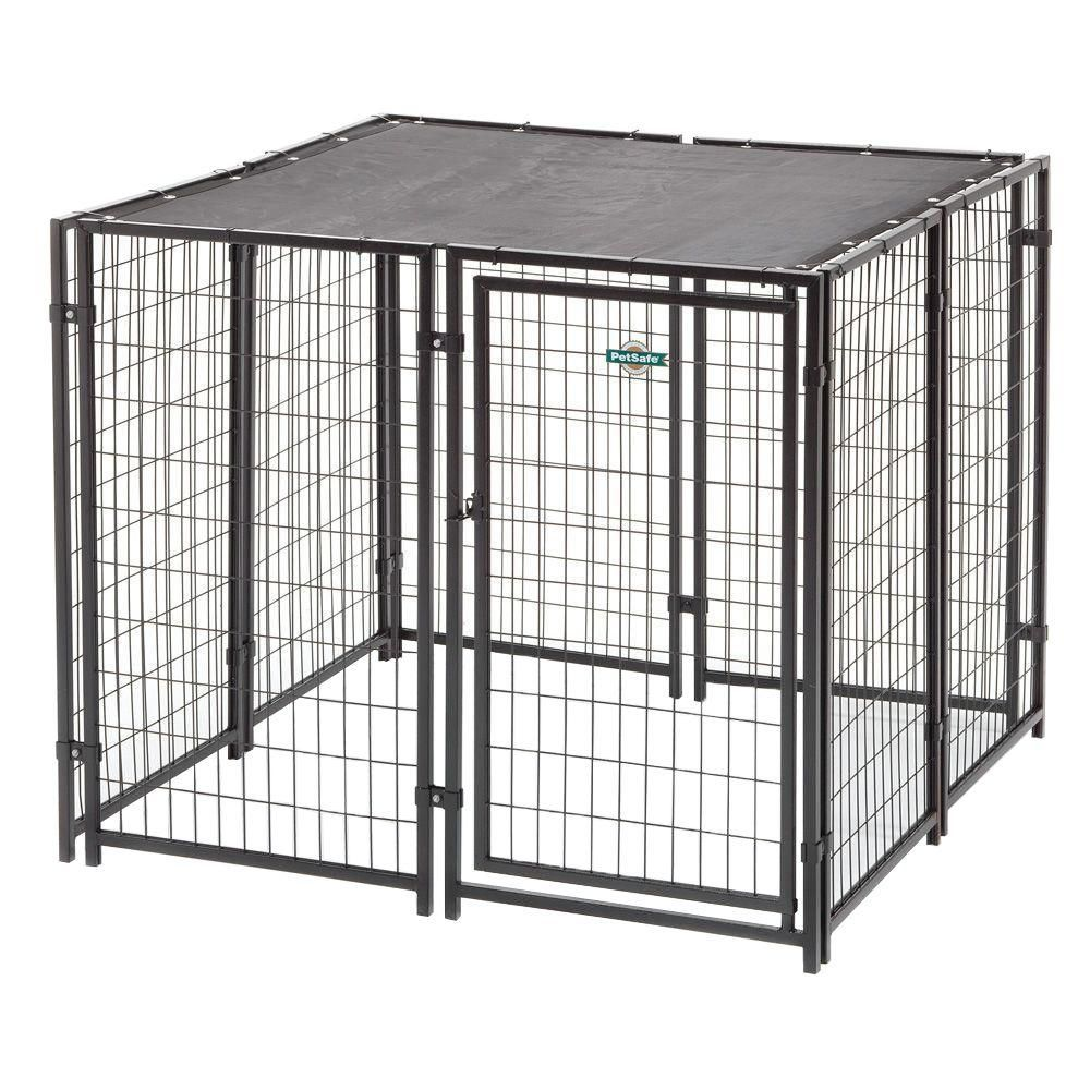 Fencemaster Cottageview 5 ft. x 5 ft. x 4 ft. Boxed Kennel