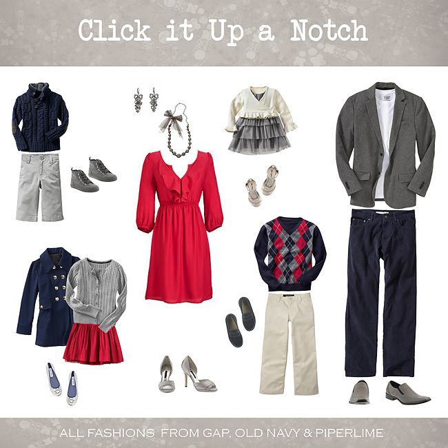 What to Wear in Family Pictures – December | Family pictures ...