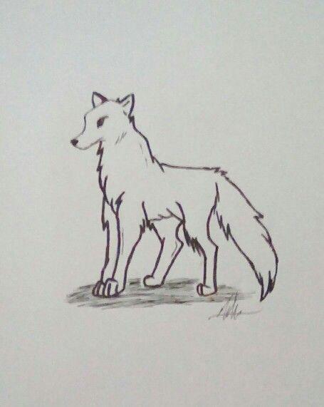 Anime wolf.
