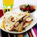Chicken Quesadillas w/ Avocado-Tomato Salsa