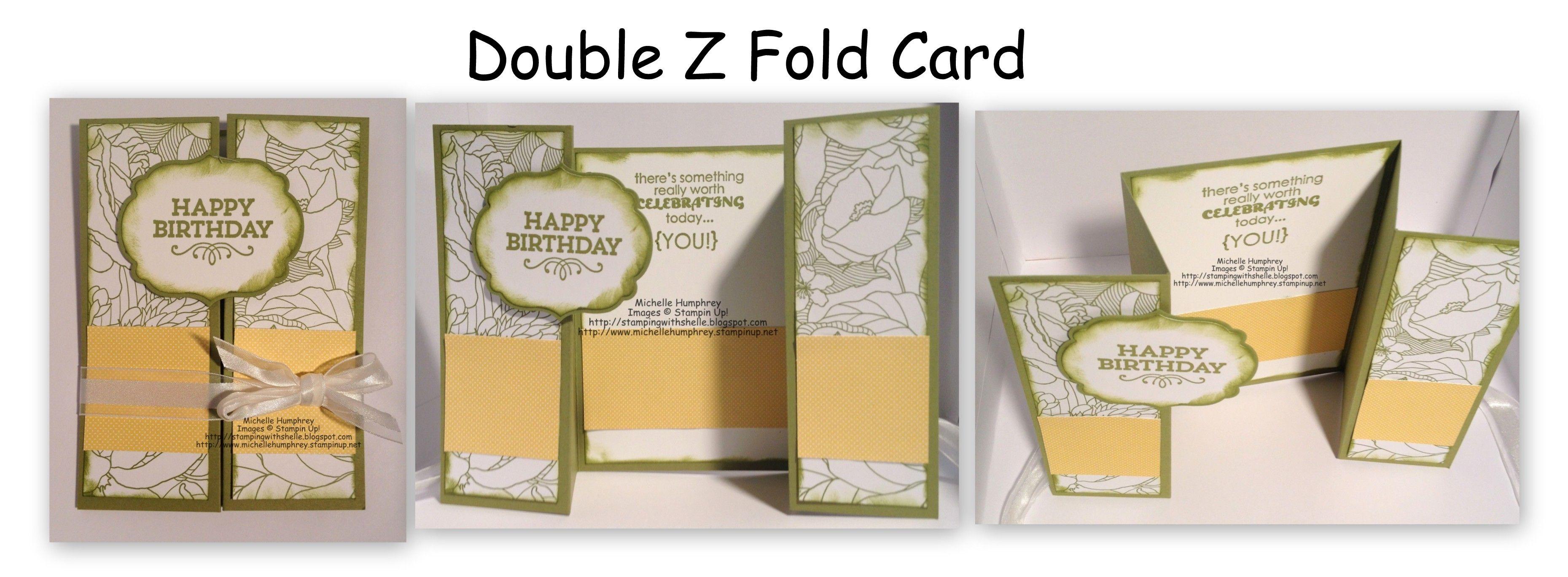 Double Z Fold Card