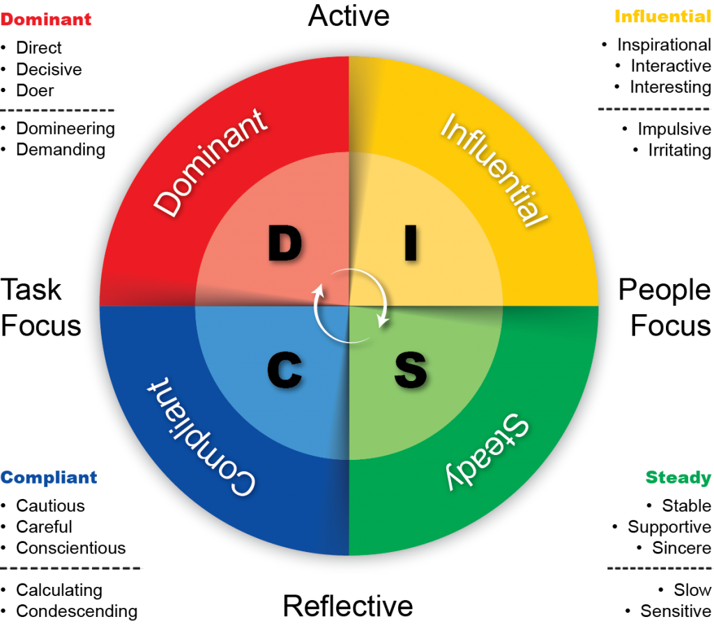 Pin On Disc Personality Test