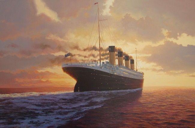 # 9. O R.M.S. Titanic foi o único transatlântico que afundou após bater em um iceberg.