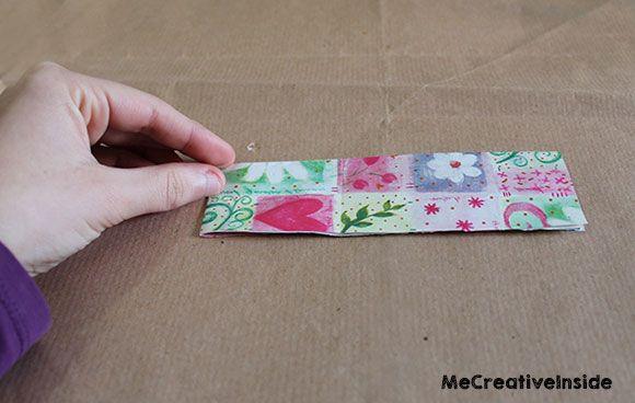 me creative inside diy segnalibro origami a forma di cuore