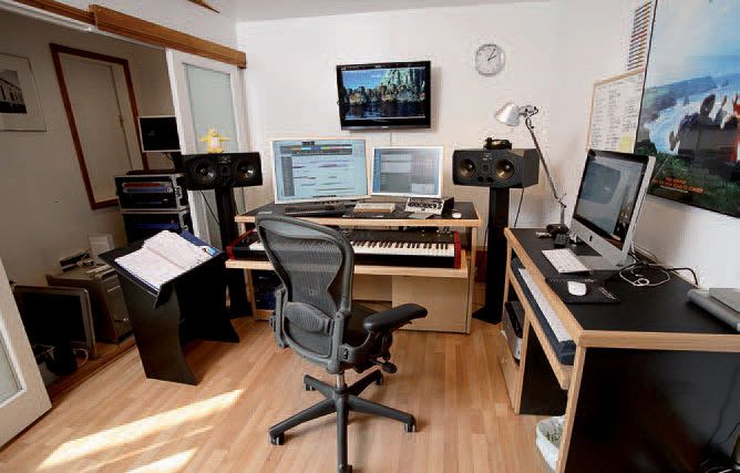 Recording studio furniture composers studio studio concepts