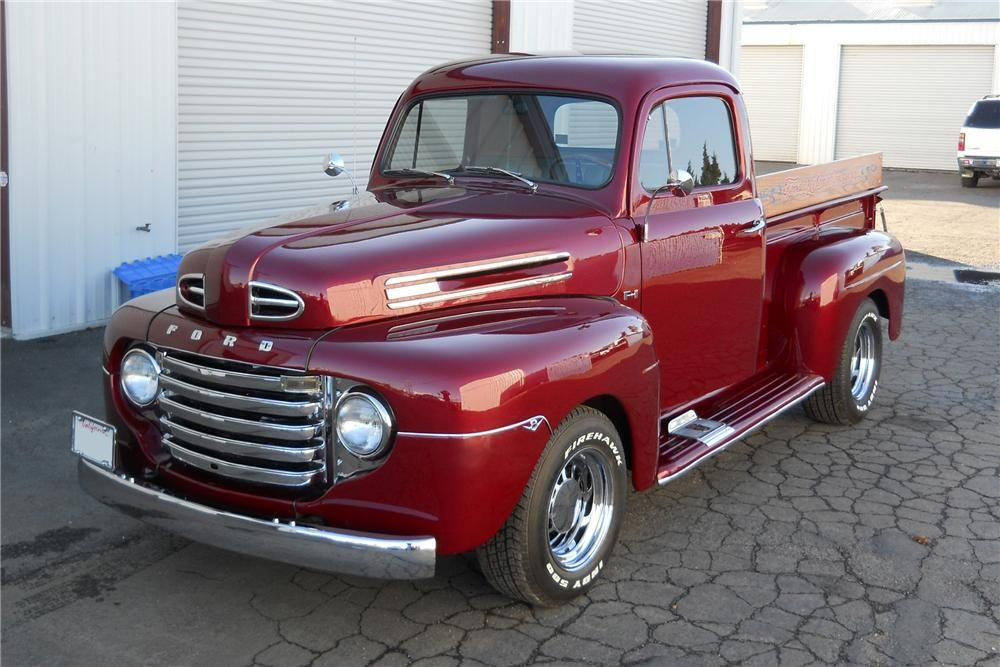 1950 ford truck barrett jackson lot 341 1950 ford f 1 custom pickup fomoco pinterest. Black Bedroom Furniture Sets. Home Design Ideas