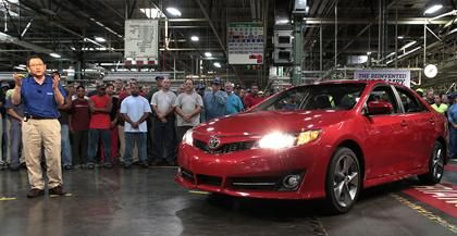 The 2012 Toyota Camry, Built In Kentucky And Indiana, Has Been Named The  Most American Made Car In The United States, Beating Out The F150 And  Silverado! ...