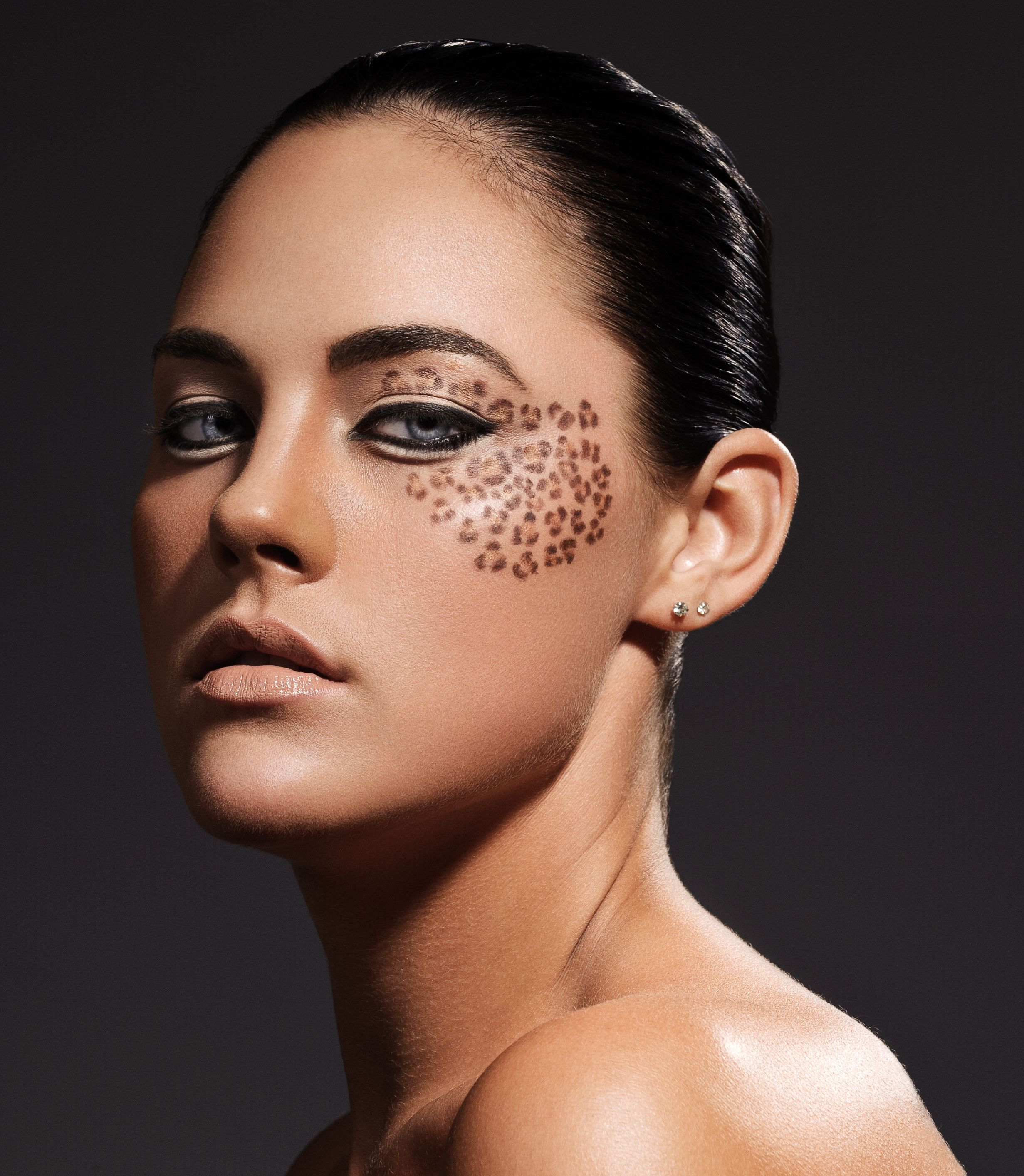 Makeup for photo shoot with Kevin Wang, leopard