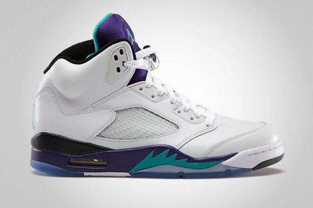 Footwear · air-jordan-5-retro-whitenew-emerald-grape-ice-